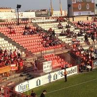 Photo taken at Nou Estadi by Laura S. on 5/27/2012