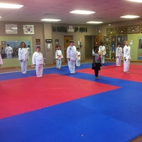 Photo taken at Master Rousseau's Taekwondo, England Airpark by Carol R. on 4/20/2012