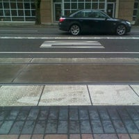 Photo taken at TriMet PSU/SW 6th & Montgomery MAX Station by Zachary F. on 3/2/2012