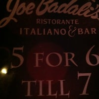 Photo taken at Joe Badali's Ristorante Italiano & Bar by Aidan N. on 7/17/2012