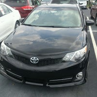 Photo taken at Fred Anderson Toyota by Jesse on 8/21/2012
