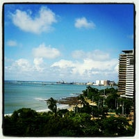 Photo taken at Hotel Beira Mar by Líssia F. on 5/19/2012