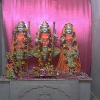 Photo taken at Godavari Dham Temple by Vishal G. on 8/28/2012