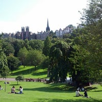Photo taken at West Princes Street Gardens by Jeff on 9/3/2012