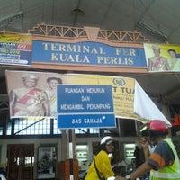 Photo taken at Jeti Kuala Perlis by Datin Aprilsha Erika A. on 5/29/2012