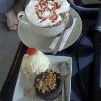 Photo taken at Coklat Cafe by rizka p. on 3/6/2012