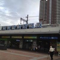Photo taken at Hanshin Amagasaki Station (HS09) by akatutori on 8/1/2012