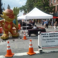 Photo taken at Hell's Kitchen Flea Market by DanLikes on 8/11/2012