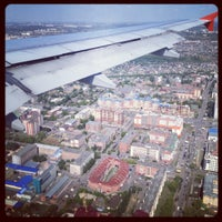 Photo taken at Omsk Central International Airport (OMS) by Di on 8/9/2012