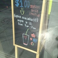 Photo taken at Jamba Juice 4th St & Santa Monica Blvd by Ken W. on 8/10/2012