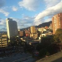 Photo taken at Edificio Seguros Bolivar by Daniel E. on 4/24/2012