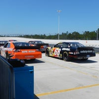 Photo taken at WDW Speedway - Richard Petty / Exotic Driving Experience by Samuel B. on 4/6/2012