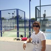 Photo taken at Polideportivo Municipal Los Trances by Juan de Dios V. on 5/26/2012