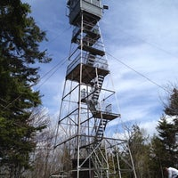 Photo taken at Green Mtn Fire Tower by Linda M. on 5/6/2012