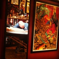 Photo taken at Three Kings Tattoo Parlor by Luci W. on 7/10/2012