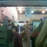 Photo taken at Supermercado Emilio Luque by Carlos Alberto S. on 7/29/2012