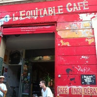 Photo taken at Équitable Café by Timothy P. on 7/14/2012