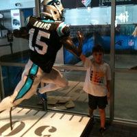Photo taken at Carolina Panthers Team Store by Warren S. on 8/13/2012