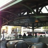 Photo taken at Grove Street PATH Station by Deborah D. on 4/24/2012
