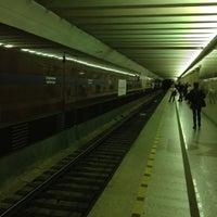 Photo taken at metro Sportivnaya by Евгения Ф. on 7/19/2012