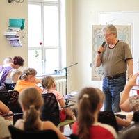 Photo taken at Wojewódzka i Miejska Biblioteka Publiczna im. dr. Witolda Bełzy by Witold B. on 7/30/2012