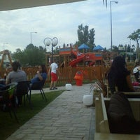 Photo taken at Olympic Park (Football Academy) by Ourania T. on 5/13/2012