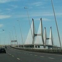Photo taken at Ponte Vasco da Gama by Елена В. on 8/20/2012