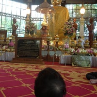Photo taken at Wat Sangkhathan by Pramonrat R. on 7/15/2012
