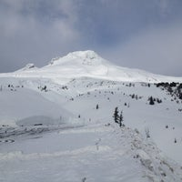 Photo taken at Timberline Lodge by Michael D. on 2/9/2012