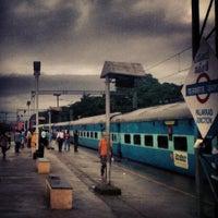 Photo taken at Palakkad Junction (Railway Station) by Vimal K. on 6/19/2012