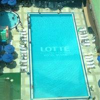 Photo taken at Lotte Hotel Busan by SEO K. on 8/4/2012