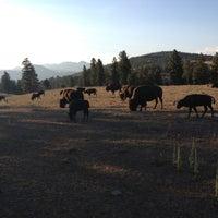 Photo taken at Buffalo Herd Overlook by Jacob E. on 9/6/2012