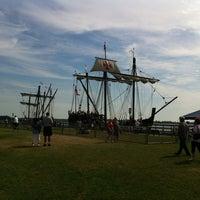 Photo taken at Bishop Park by Mike B. on 7/8/2012