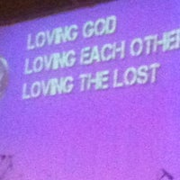 Photo taken at Calvary Chapel by Stephanie C. on 6/24/2012