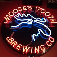 Photo taken at Moose's Tooth Pub & Pizzeria by Gary M. on 6/5/2012