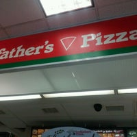 Photo taken at Godfather's Pizza by Stephen S. on 4/20/2012