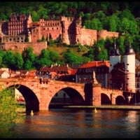 Photo taken at Heidelberger Schloss by Angie S. on 8/18/2012