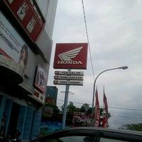 Photo taken at Wira Jaya Motor by Andi Akbar M. on 7/17/2012