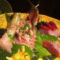 Photo taken at 魚もつ鍋 魚呑 うおどん 高円寺店 by Sachio T. on 6/19/2012