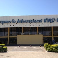 Photo taken at Viru Viru International Airport (VVI) by Rodrigo on 7/31/2012