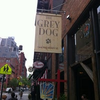 Photo taken at The Grey Dog by Valentin V. on 5/9/2012