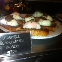 Photo taken at Juana la Loca Pintxos-Bar by Juande S. on 2/17/2012