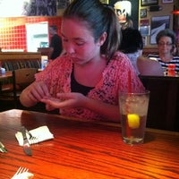 Photo taken at Red Robin Gourmet Burgers by Carly D. on 7/16/2012