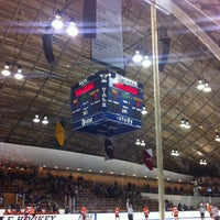 Photo taken at David S. Ingalls Rink by Adam G. on 3/5/2012