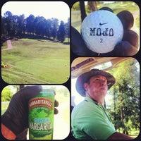 Photo taken at Crockett Ridge Golf Course by Aaron T. on 6/25/2012