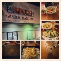 Photo taken at Umezono Japanese Restaurant by Jermaine (DJ JTK) on 8/13/2012