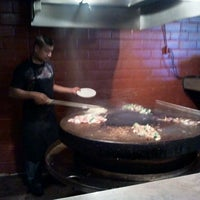 Photo taken at Mongolian Grill San Jacinto by Bart J. on 3/13/2012