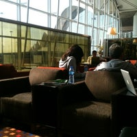 Photo taken at Plaza Premium Lounge (West Hall) by Timothy J. on 3/18/2012