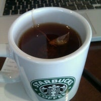 Photo taken at Starbucks Coffee by Flor M. on 3/6/2012