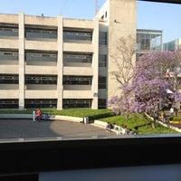Photo taken at Universidad del Valle de México Campus Coyoacan by Gabriela P. on 4/13/2012